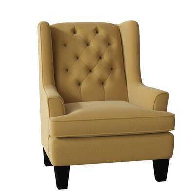 Jermaine Wingback Chair - Wayfair