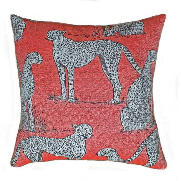 The Fabric Shoppe Savannah Sunbrella Indoor/Outdoor Abstract Throw Pillow - Perigold