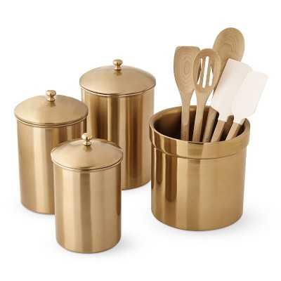 Gold Countertop Organization Classic Set - Williams Sonoma