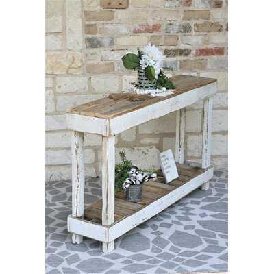 "Mcchristian 46"" Solid Wood Console Table - Wayfair"