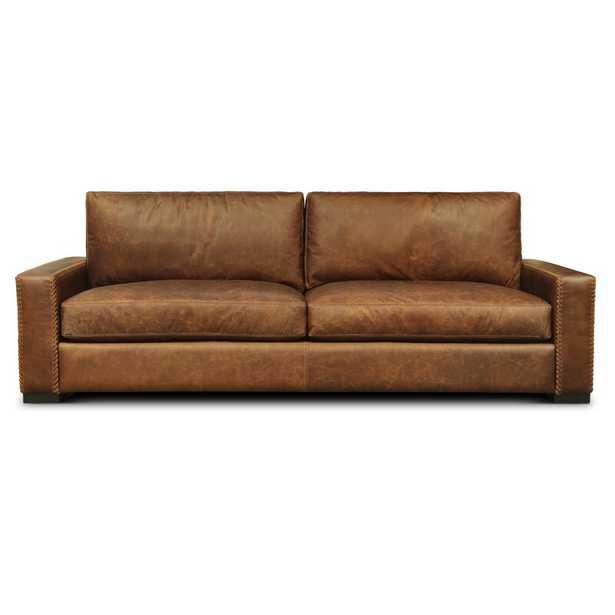Eleanor Rigby Urban Cowboy Leather Sofa Upholstery Color: Maestro Artisano Camel - Perigold
