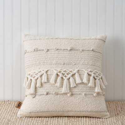 Leah Square Pillow Cover & Insert - Wayfair