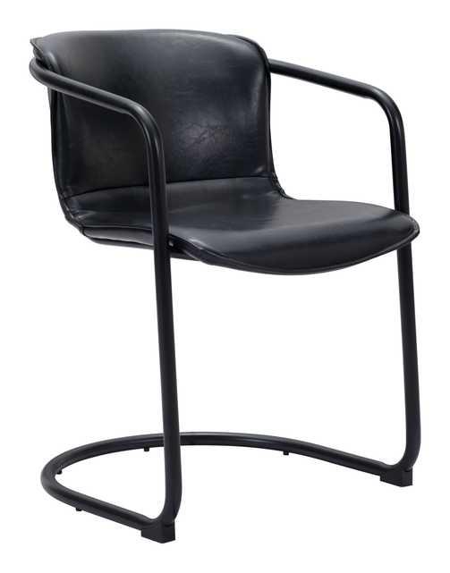 Paxton Dining Chair (Set of 2) Black - Zuri Studios