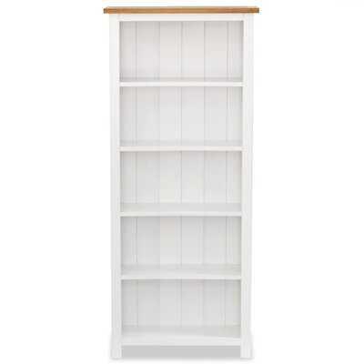 Izabella Solid Wood Standard Bookcase - Wayfair