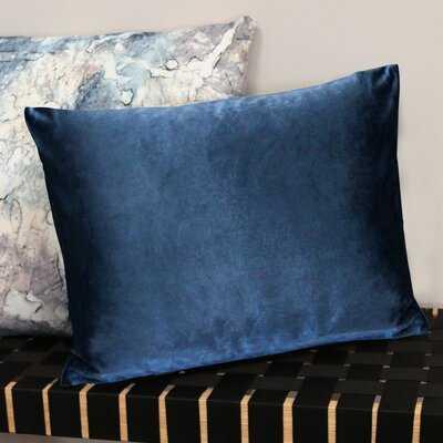 """Backman Mercer41 Velvet 14"""" Lumbar Pillow Cover and Insert Pillow - Wayfair"""