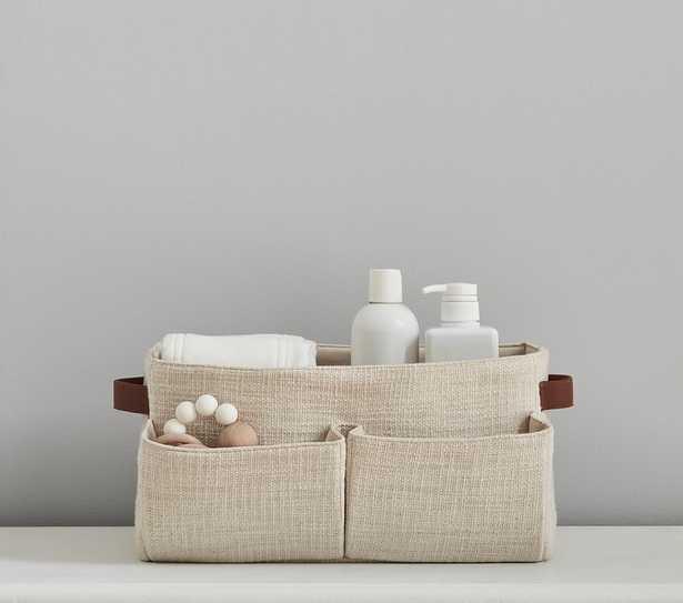 Slub Cotton Storage, Diaper Caddy - Pottery Barn Kids