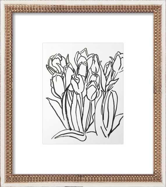 Tulips by Megan Williamson for Artfully Walls - Artfully Walls