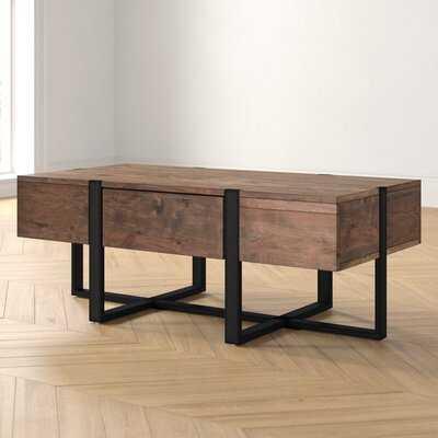 Langdon Cross Legs Coffee Table - Wayfair