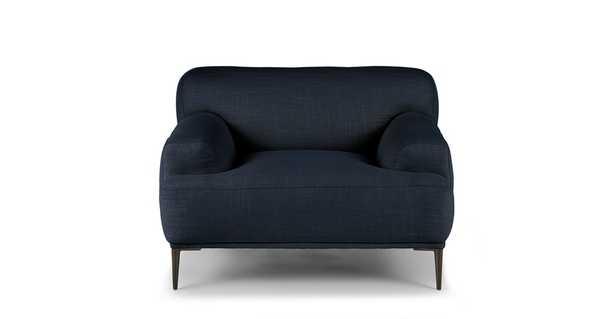 Abisko Aurora Blue Lounge Chair - Article