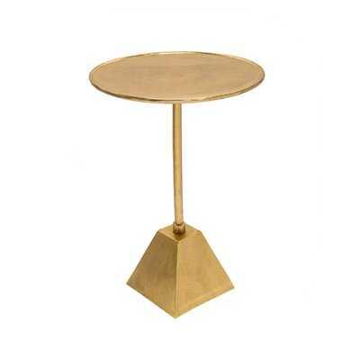 Abstract End Table - Wayfair
