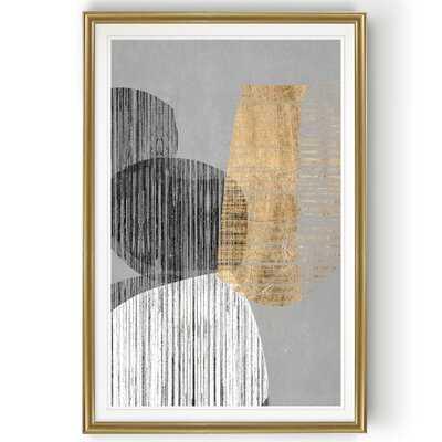 'Adjacent Shapes II' - Painting Print on Canvas - Wayfair