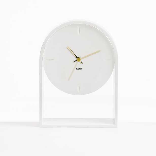 Kartell Air Du Temp Clock Color: White - Perigold