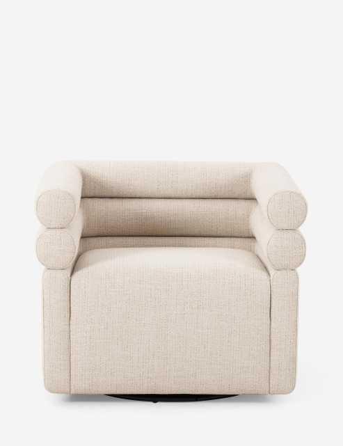 Tomi Swivel Chair - Lulu and Georgia