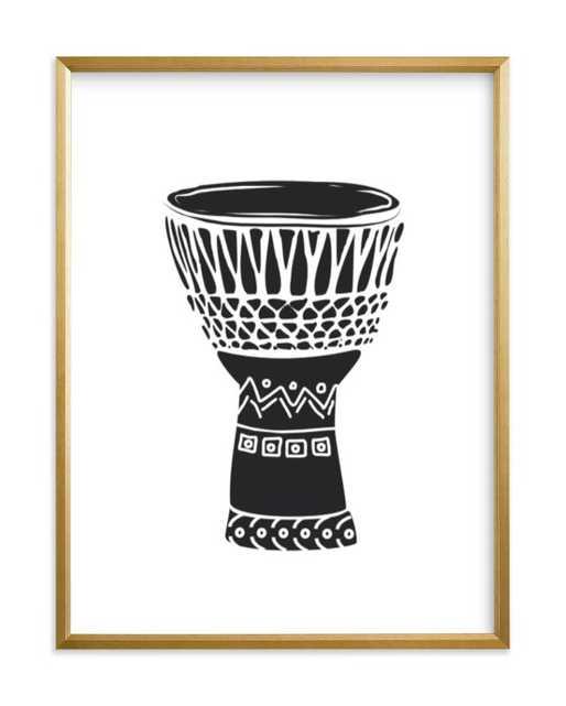 African Drum Art Print - Minted