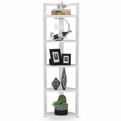 Herrell Corner Bookcase - Wayfair