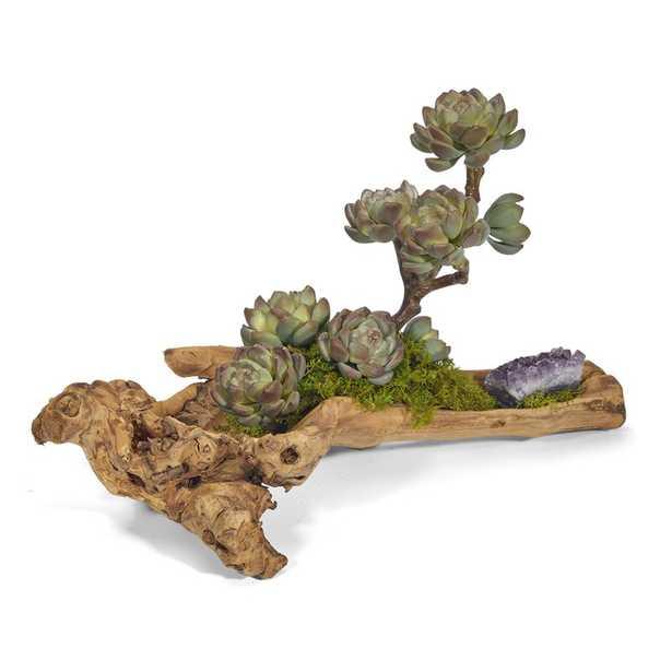 Artificial Succulent Plant in Planter - Perigold