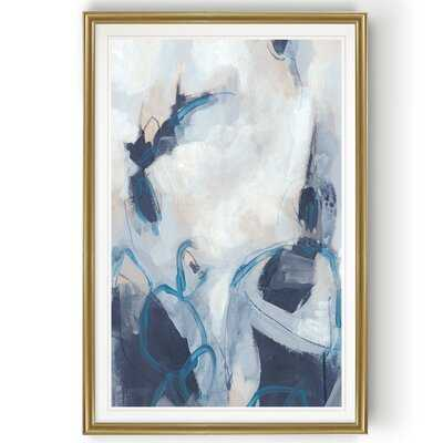'Blue Process I' - Painting Print on Canvas - Wayfair