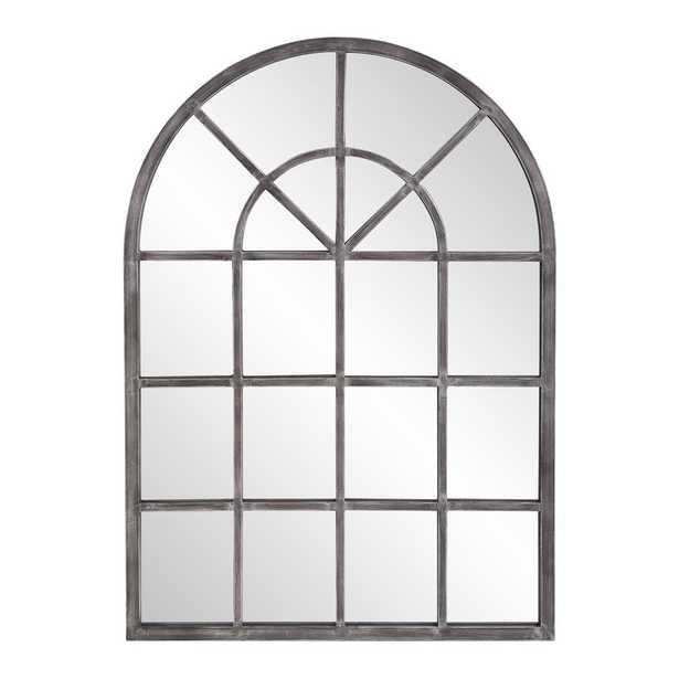 Howard Elliott Collection Fenetre Silver Mirror - Home Depot