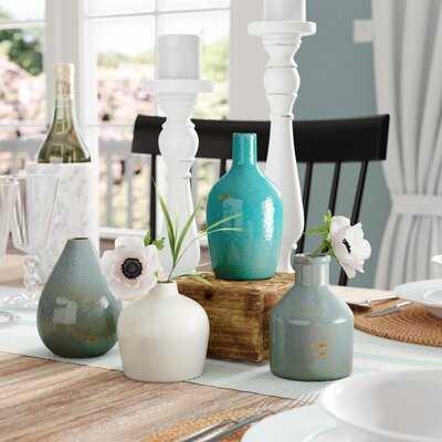 4 Piece Weon Ceramic Table Vase Set - Wayfair