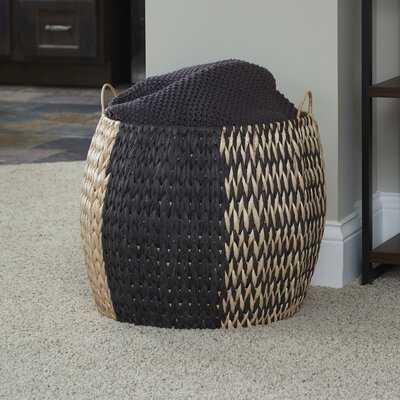 Vertigo Barrel Wicker Basket - Wayfair