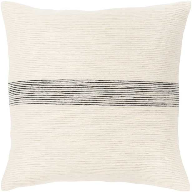 """Carine - 20"""" Pillow with Down Insert - Neva Home"""
