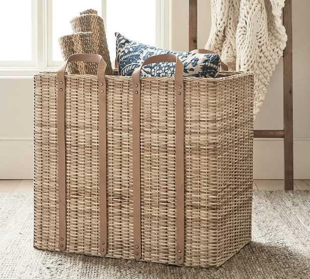 Austin Oversized Basket, Natural - Pottery Barn