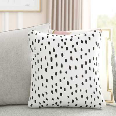 Glenwood Dalmatian Dot Cotton Animal Print Throw Pillow Cover - Wayfair