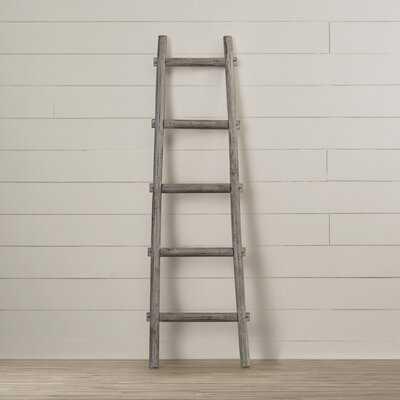 Lianes 5 Step 5 ft Decorative Blanket Ladder - AllModern