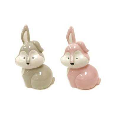 Lenz Bunnies Piggy Bank - Wayfair