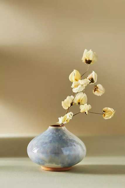 Posey Bud Vase By Anthropologie in Blue Size S - Anthropologie
