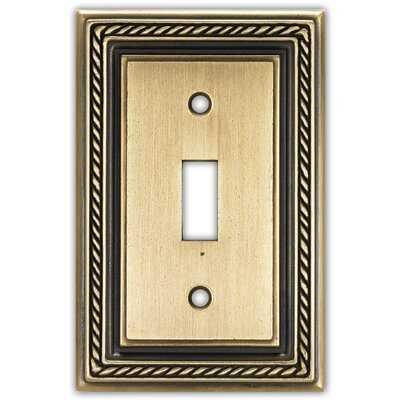 Nautica 1-Gang Toggle Light Switch Wall Plate - Wayfair