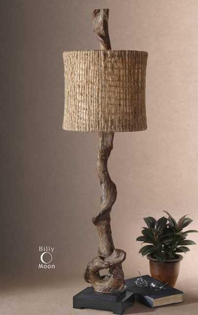 Driftwood Buffet Lamp - Hudsonhill Foundry
