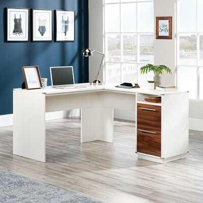 Moran Key L-Shape Executive Desk - Wayfair