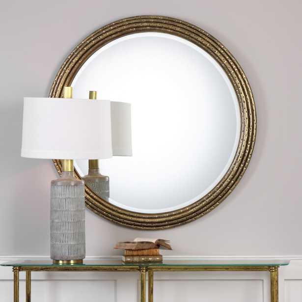 Spera Round Gold Mirror - Hudsonhill Foundry