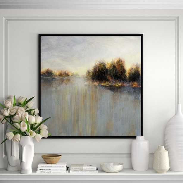 JBass Grand Gallery Collection 'Rainy Sunset II' Framed Print on Canvas - Perigold