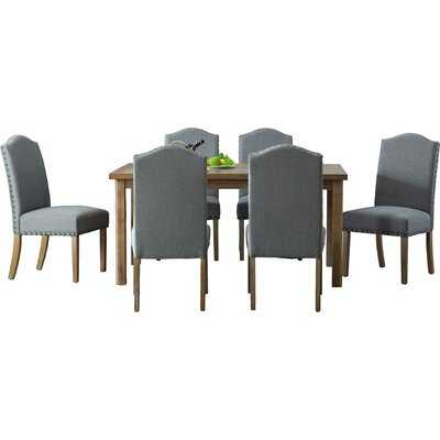 Eleanor Solid Wood 7 Piece Dining Set - Wayfair