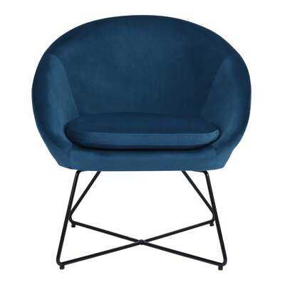 Hunsberger Barrel Chair - Wayfair