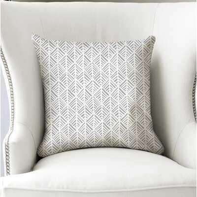 Jaren Cotton Geometric Throw Pillow - Wayfair