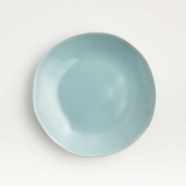Marin Blue Melamine Salad Plate - Crate and Barrel
