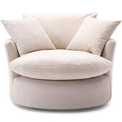 Aqif Swivel Barrel Chair - Wayfair
