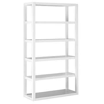 Parsons Tower, White Lacquer - West Elm
