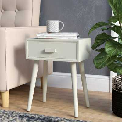 Orion End Table with Storage - Wayfair