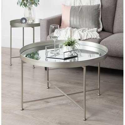Dishman Lift Top Cross Legs Coffee Table - Wayfair