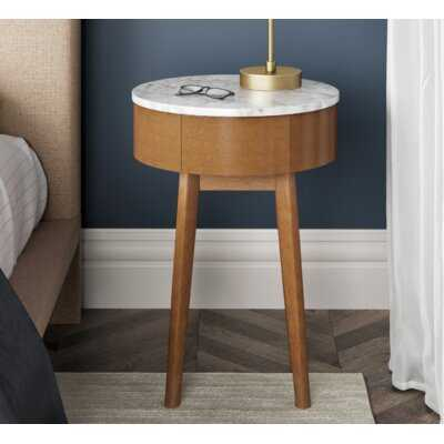 Charley End Table with Storage - Wayfair
