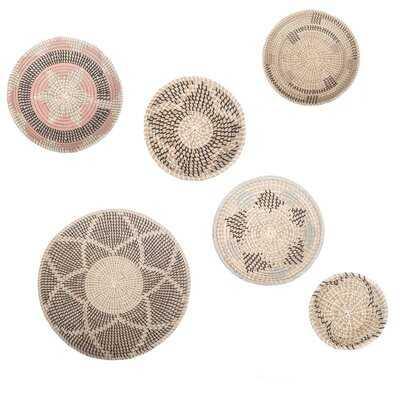 Elmina Seagrass 7 Piece Basket Set - Wayfair