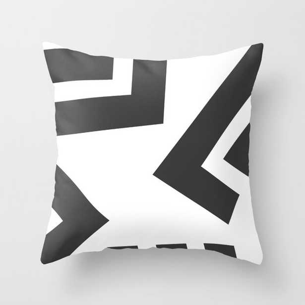 """Fragment 01a Couch Throw Pillow by The Old Art Studio - Cover (20"""" x 20"""") with pillow insert - Indoor Pillow - Society6"""