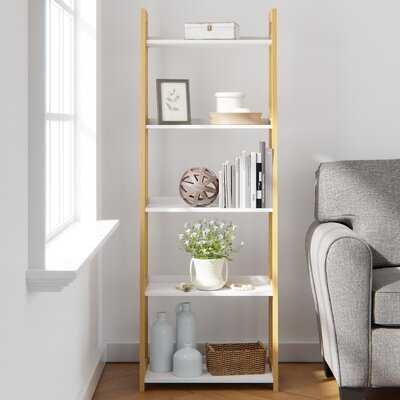 Makayla 67'' H x 23.5'' W Ladder Bookcase - Wayfair