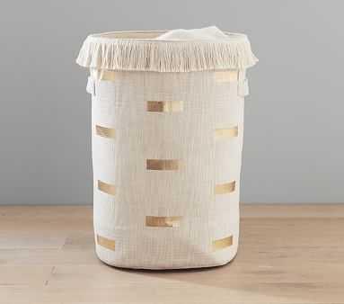 Boho Foil Print Nursery Storage, Hamper - Pottery Barn Kids