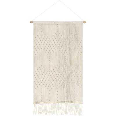 Cotton Wall Hanging with Rod Included - AllModern