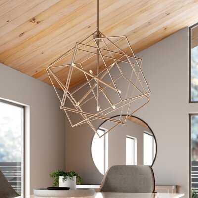 Connors 7-Light Unique / Statement Geometric Chandelier - AllModern